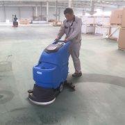 手推式洗地车的优势和适用范围