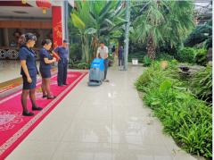 手推式洗地机用于生态园酒店艾隆AL50B